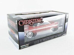 Greenlight 1:24 CHRISTINE 1958 Plymouth Fury Evil Version Model Replica Car