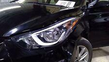 2014-16 Hyundai Elantra Left Headlamp Assembly (reflector style)