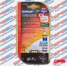 LAMPADINA HYPER - LED 10X36 MM LAMPA - PILOT ART. 58450 ULTRA BIANCO