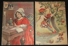 Gulliver chez les géants - Jonathan Switf - 1909 ill. Vaccari - 2/2 - in folio