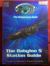 Babylon 5 RPG: The Babylon 5 Station Guide Box Set MGP 3507 - d20 - NEW