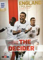 ENGLAND V POLAND FIFA WORLD CUP QUALIFIER 2013