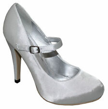 Women's Court Satin Formal Shoes