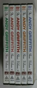 The Andy Griffith Show - Vol. 1-5 - 1-3 New Sealed - Reg 0 - 4&5 Preowned (D869)
