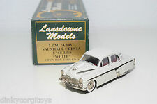 . LANSDOWNE MODELS LDM 2A 2 A VAUXHALL CRESTA E SERIES 1957 WHITE MINT BOXED