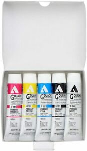 Holbein Acryla Gouache 5 Grundfarben-Set D421 20ml 007421 (Japan Import)