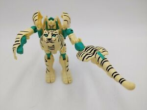 1996 Transformers Beast Wars Deluxe Class Tigatron Loose INCOMPLETE