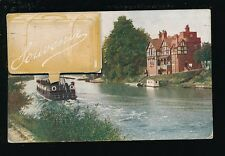 Worcestershire Worcs WORCESTER Novelty Souvenir Pocket 1915 PPC