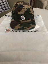 MONCLER BERRETTO HAT LOGO DETAIL CAMO CORDUROY HAT One Size Adjustable