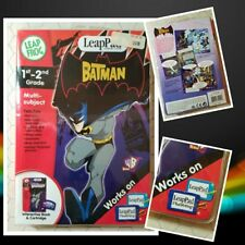 Leap Pad Learning System: The Batman Kids WB Multi-subject 1st - 2nd Grade New