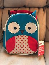 """Zoo Lunchie Insulated Lunch Bag New With Tags RARE 8 12"""" x 9 1/2 """" w Zipper Top"""