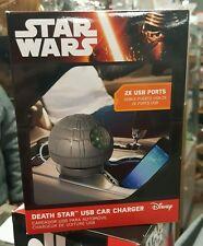 Disney Star Wars Estrella De La Muerte USB Cargador De Coche (sonidos animado) - Nuevo en Caja A5-3