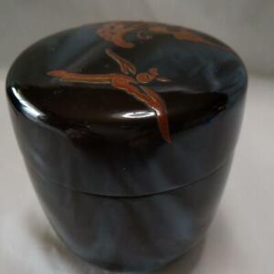 Natsume Tea Caddy Ceremony Container for Tea Powder Sado Traditional Japan C-03