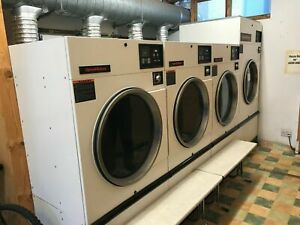 Commercial Industrial Launderette Coin Op Tumble Dryers, Primus Washing Machines