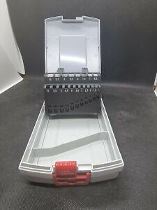 BOSCH Bohrerkassette leer - Leerbox für 19 Metallbohrer 1-10mm ProBox Kunststoff