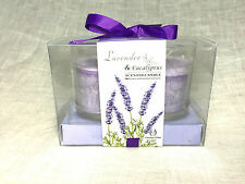 Scented Candles Gift Set - Lavender & Eucalyptus