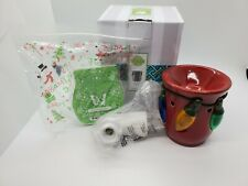 New Scentsy Holiday Lights Electric Mini Warmer Nightlight bonus Scentsy Bar