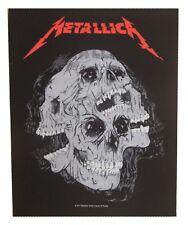Metallica dossard patche dorsal officiel licence patch à coudre grand