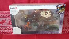 42259 Schleich Velociraptor auf der Jagd Velociraptor T-Rex-Schädel Neu OVP