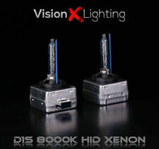 2x D1S Bulbs 35W Xenon Hid Ice Blue 8000K Low Beam Headlight Saab 9-7X 2005-2009