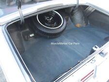 1974-1976  Chevrolet Caprice Impala FELT/RUBBER TRUNK MAT Herringbone 74 75 76