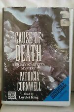 Cause of Death: Patricia Cornwell: Unabridged Cassette Narr. Lorelei King (WW1)