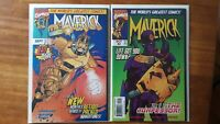 Maverick 1-10 New Actioned Packed Adventures High Grade Comic Book RM16-43