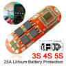 US 3S/4S/5S 12.6/16.8/21V Li-ion Lithium Battery BMS PCB Protect Board Balance