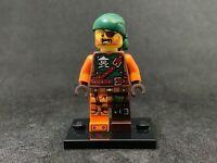 New Genuine LEGO Bucko Minifig with Sword Ninjago 70593 70605