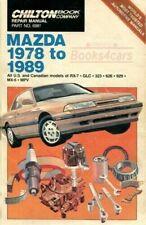 Manuales de coches papeles Mazda