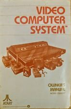 Atari 2600 - Manual Only for Video Computer System Console VCS 1980 CO15394