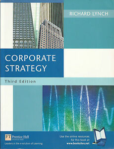 Corporate Strategy by Richard Lynch (Paperback, 2002)