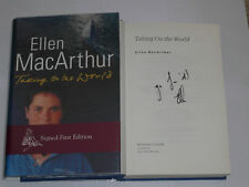 Signed Ellen McArthur Taking On The World Autobiography