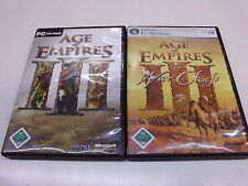 PC  Age of Empires III und Age of Empires III: The War Chiefs (Add-on)