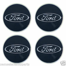 OEM NEW Ford Taurus, Focus Blue Oval Center Cap - Wheel Hub Cover SET OF ALL 4