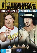 WWE - Legends Of Wrestling : Roddy Piper & Terry Funk (DVD, 2009) NEVER WATCHED