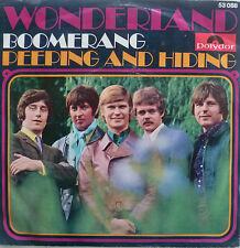 "7"" 1968 Beat! Wonderland: Boomerang // VG + \ \"