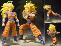 DBZ Dragon Ball Z SHF S.H.Figuarts Super Saiyan 3 Son Goku Action Figure 17cm