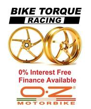 Gold OZ Piega Wheels 1100 MTS Multistrada 07-09 Interest Free Credit Available