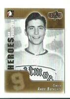 ANDY BATHGATE itg HEROES card GUELPH BILTMORES