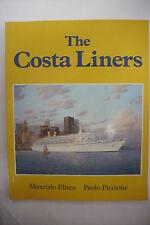 THE COSTA LINERS-Cruise Ship-Passenger-Italian Company-Genoa-Illustrated