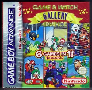 GBA Game & Watch Gallery Advance (2002), listing To be updated, stock image used