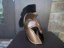Troy Achilles Armor Helmet Medieval Knight Crusader Greek Spartan Roman Costume