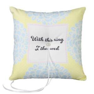 Ivy Lane Design Vintage Inspired Wedding Ring Pillow