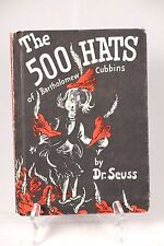 The 500 Hats of Bartholomew Cubbins - Dr. Seuss Book Club Edition Copyright 1938
