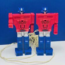 Transformers action figure Hasbro 1984 Optimus Prime walkie talkie phone autobot