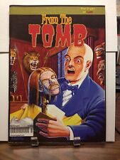 FROM THE TOMB # 23 HORROR COMICS MAGAZINES FANZINE EERIE PUBS INDEX COVERS MORE