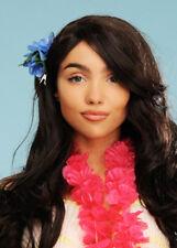 Blue Hawaiian Flower Hair Clip