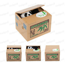 Cute Stealing Coin Cat Money Box Piggy Bank, Panda