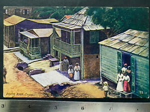 Puerto Rico ca1920-60 Vintage Postcard, Tarjeta Postal,